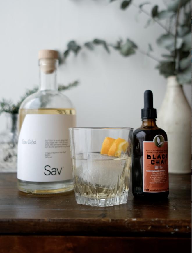 Sav Orange Bitter recept